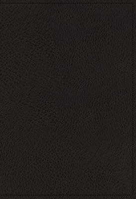 NIV Study Bible Black Genuine Leather