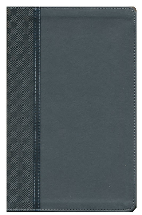 NIV Thinline Reference Bible Charcoal LeatherSoft