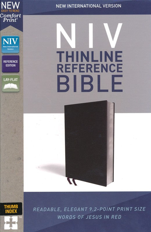 NIV Thinline Reference Bible Indexed