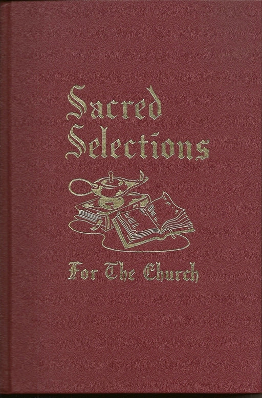 Sacred Selections Hymnal - Leather