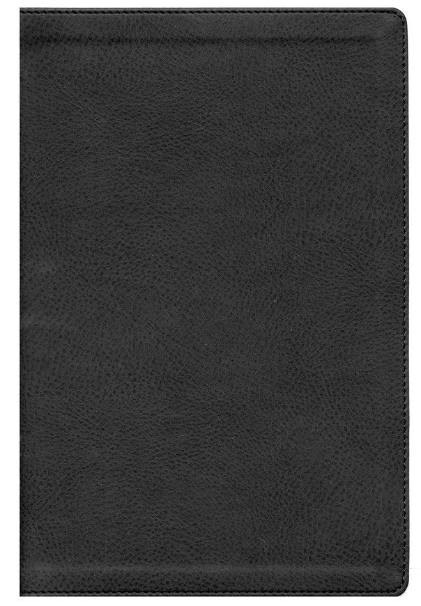 NASB Preacher's Bible Black Premium Leather
