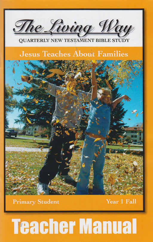 PRIMARY 1-1 MAN-Jesus Teaches Families