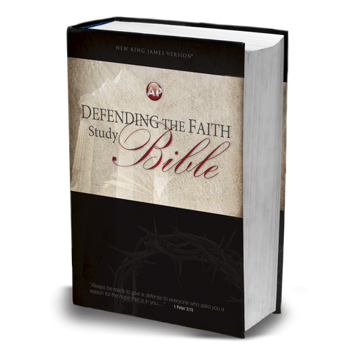 NKJV Defending the Faith Study Bible Hardback