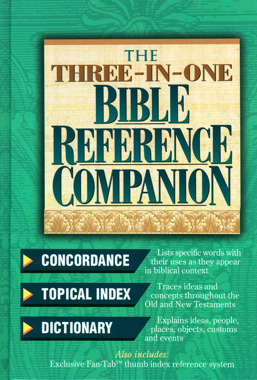 Nelson's Three-in-One Bible Reference -