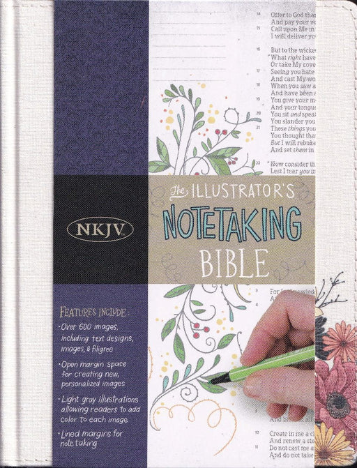 NKJV Illustrator's Notetaking Bible