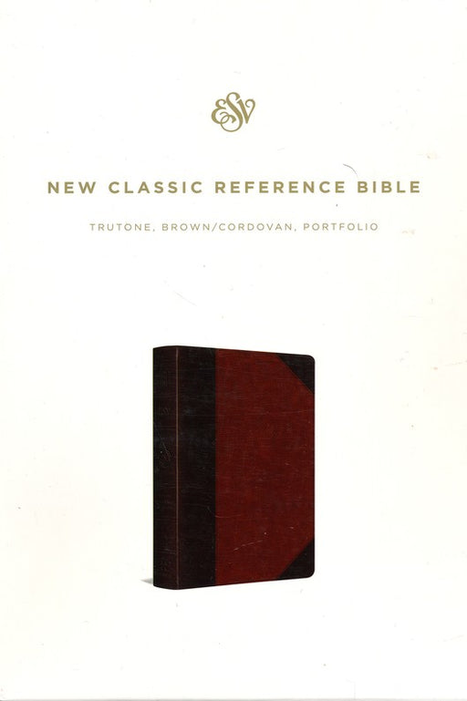 ESV Reference Bible Trutone Brown/Cordovan