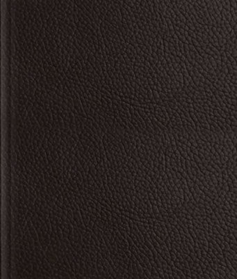 ESV Journaling Bible - Deep Brown Buffalo Leather over Board