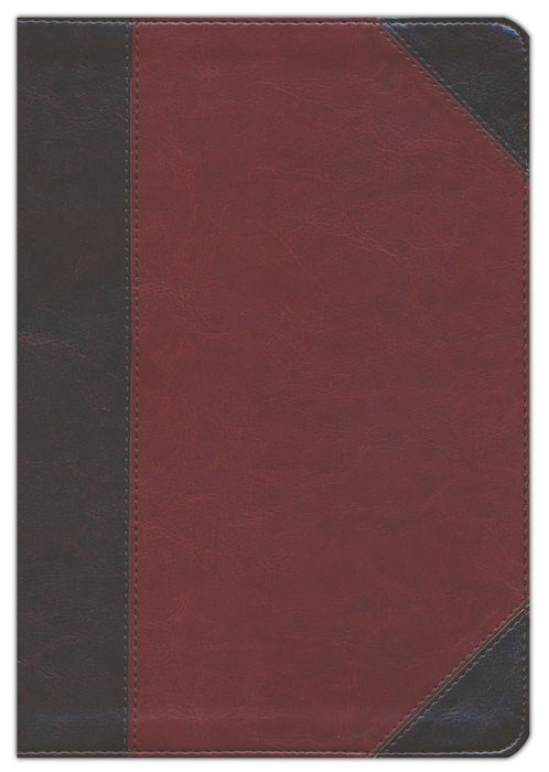 ESV Verse-By-Verse Reference Bible Brown/Cordovan TruTone