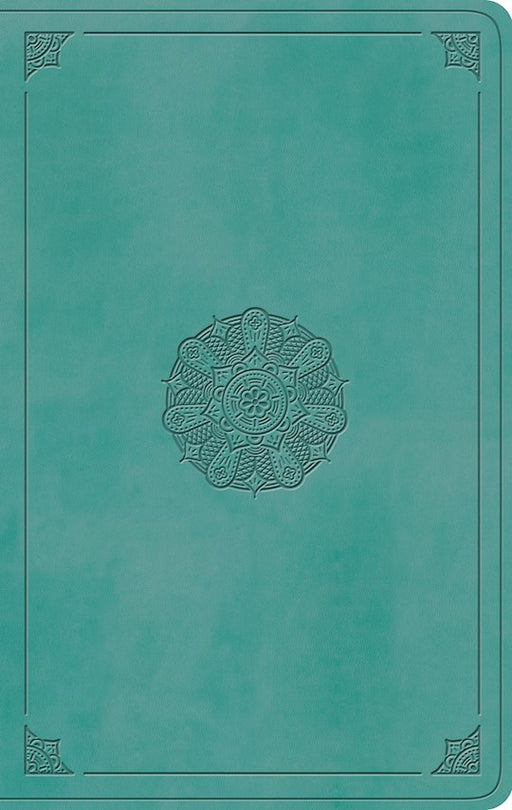 ESV Value Thinline Bible Turquoise Trutone