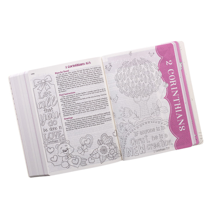 ESV My Creative Bible for Girls: ESV Journaling Bible, Pink Flexcover