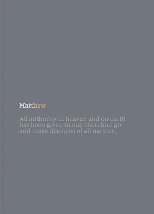 NKJV Scripture Journal: Matthew