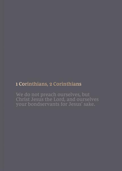 NKJV Scripture Journal 1 & 2 Corinthians