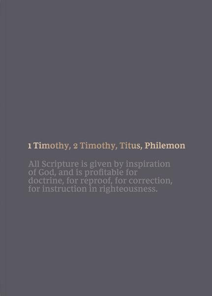 NKJV Scripture Journal 1-2 Timothy, Titus & Philemon