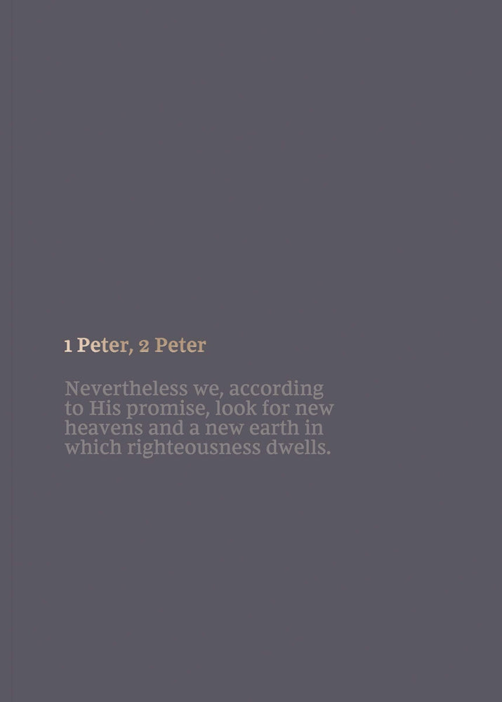 NKJV Scripture Journal: 1 & 2 Peter