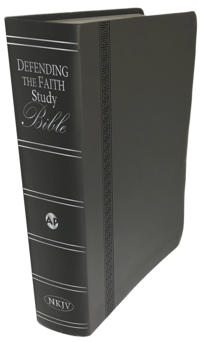 NKJV Defending the Faith Study Bible Duotone