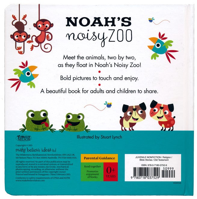 Noah's Noisy Zoo: A Feel-And-Fit Shapes Book