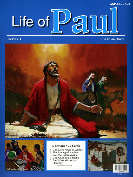 Life of Paul Series 1 - Abeka Flash-A-Card