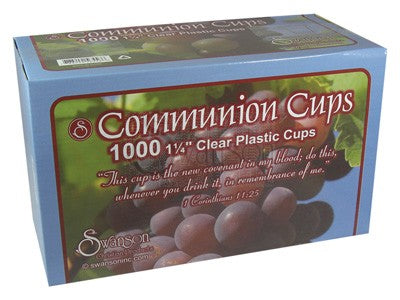 Communion Cups by Swanson 1 1/4""