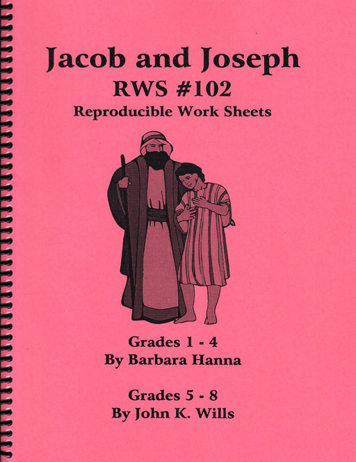 Jacob and Joseph  OT Bible lessons Book