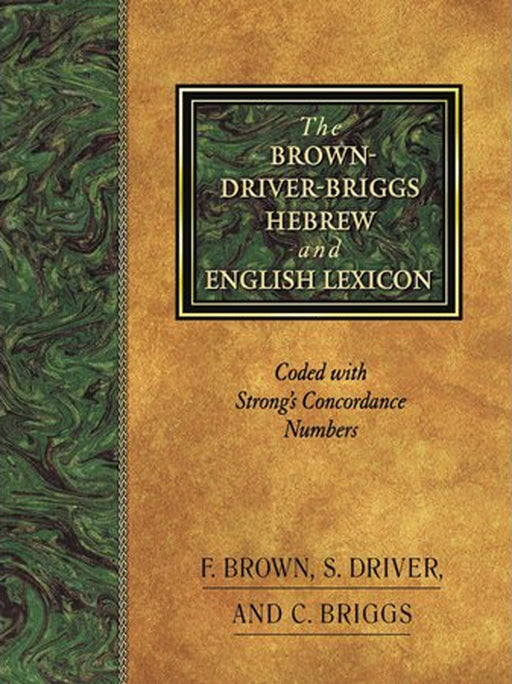 Brown-Driver-Briggs Hebrew/English Lexicon