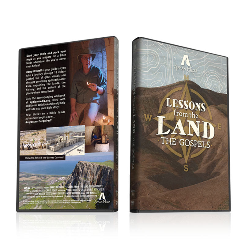 Lessons From the Land: The Gospels -- A DVD for Kids