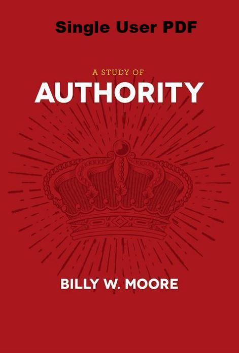 A Study of Authority - Downloadable Single User PDf