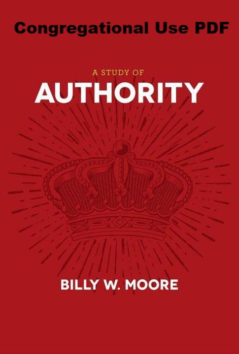 A Study of Authority - Downloadable Congregational Use PDF