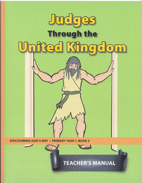Judges Through the United Kingdom (Primary 1:3) Teacher Manual