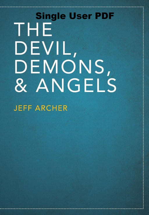 The Devil, Demons, and Angels - Downloadable Single Use PDF