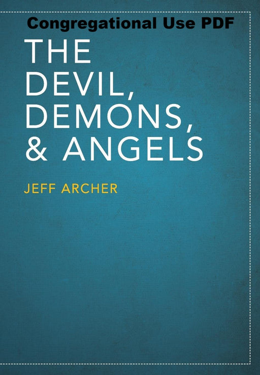 The Devil, Demons, and Angels - Downloadable Congregational Use PDF