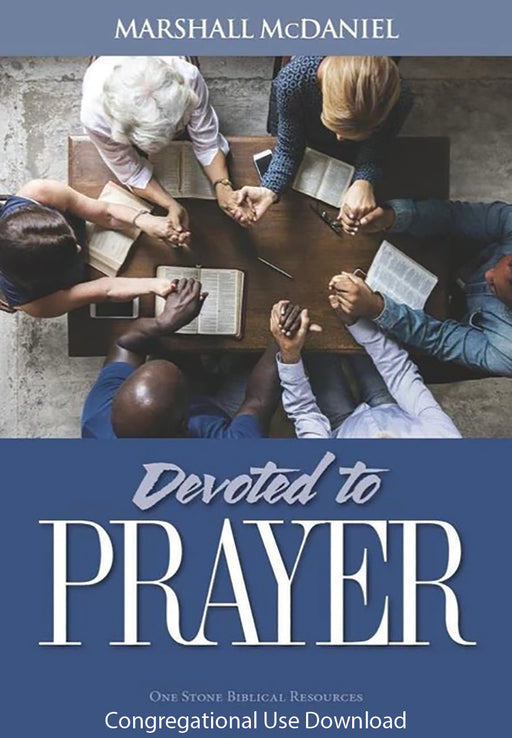 Devoted to Prayer - Downloadable Congregational Use PDF