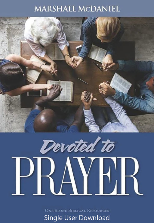 Devoted to Prayer - Downloadable Single User PDF