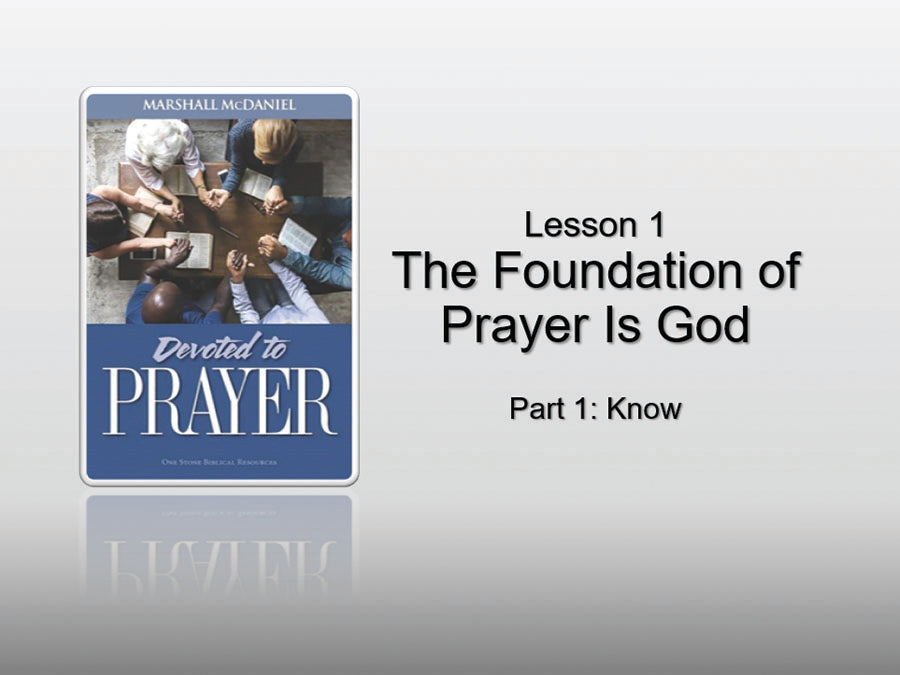 Devoted to Prayer - Downloadable PowerPoint Presentation
