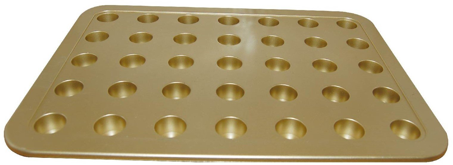 Economy Communion Tray - Goldtone