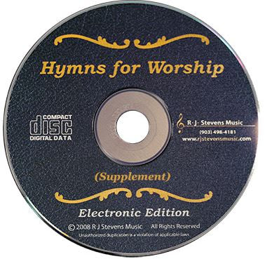 Hymns for Worship Supplement Electronic Edition