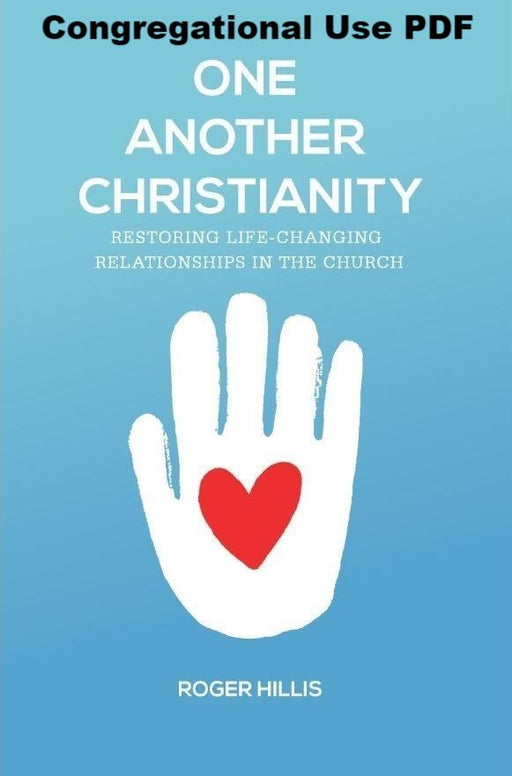 One Another Christianity - Downloadable Congregational Use PDF