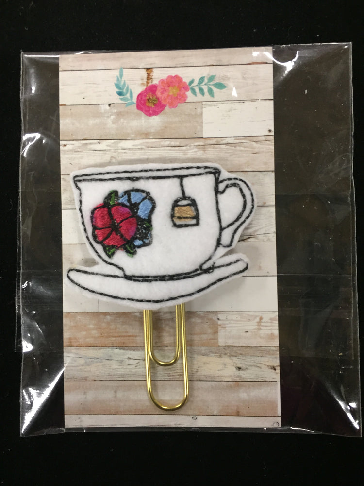 Sacred Selections Bookmark - Teacup