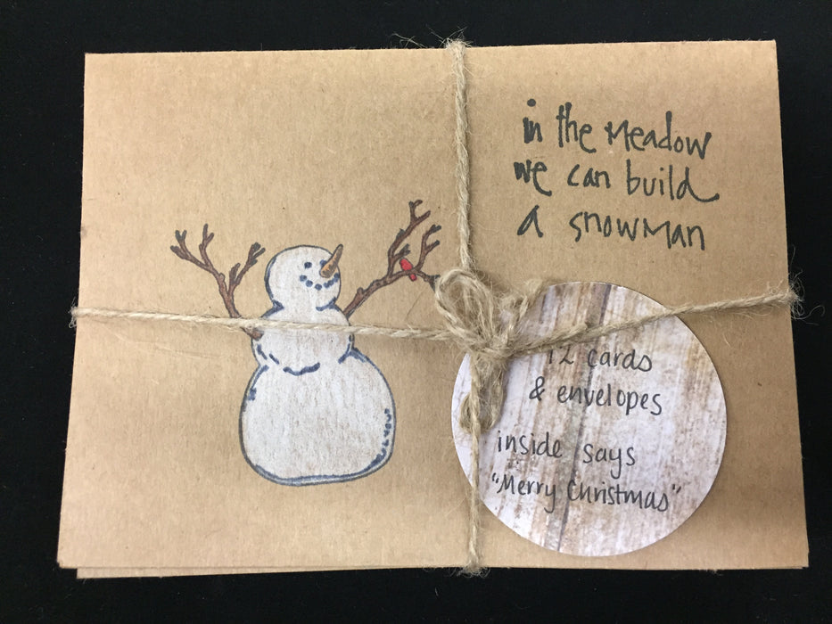 Sacred Selections Bulk Notecards - Snowman