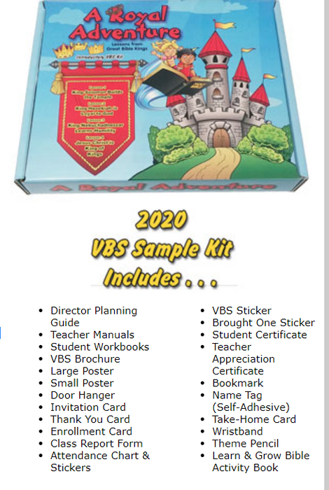Lambert VBS Kit 2020 - A Royal Adventure