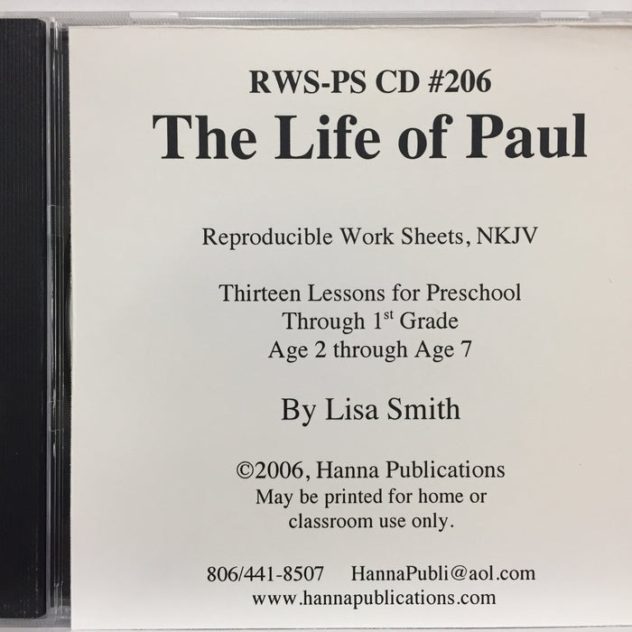 The Life of Paul CD