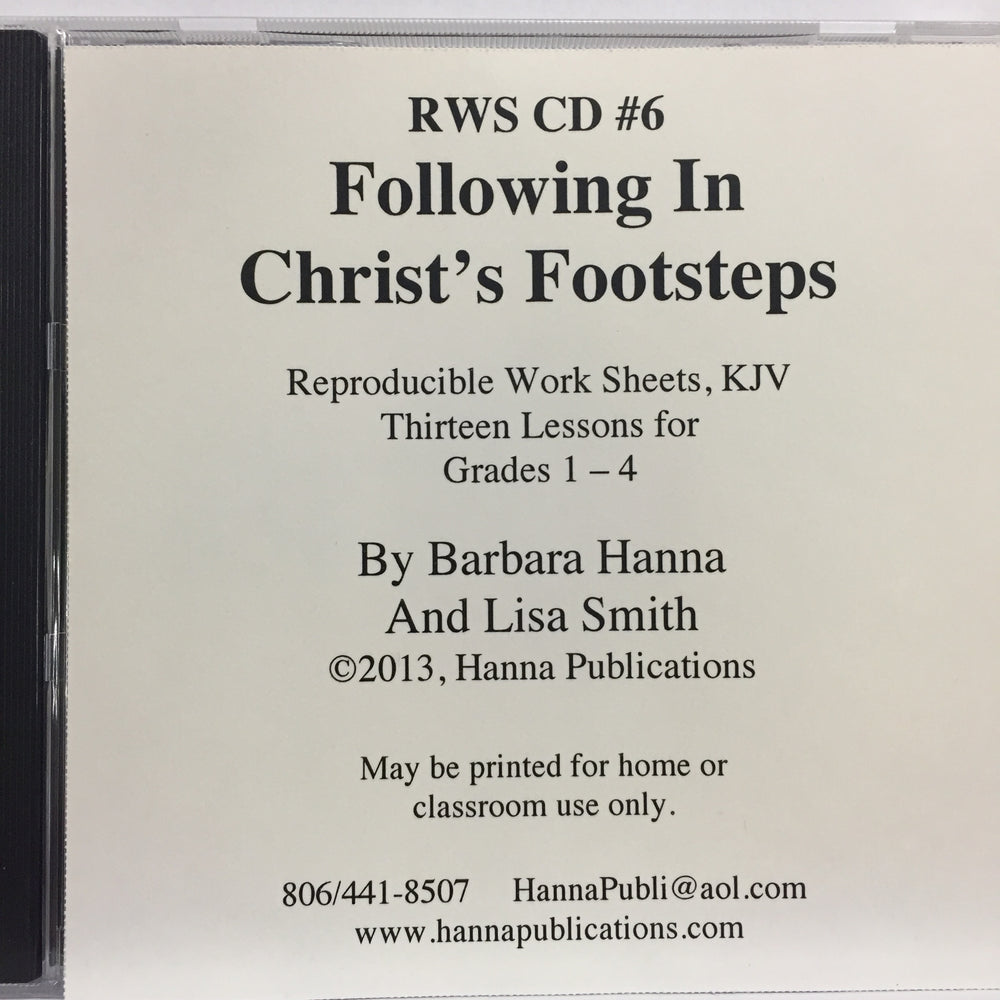Following in Christ's Footsteps (Book of Mark) CD