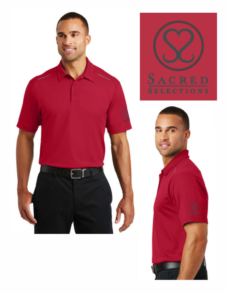 Sacred Selections Polos (2 Colors: Red or Charcoal)