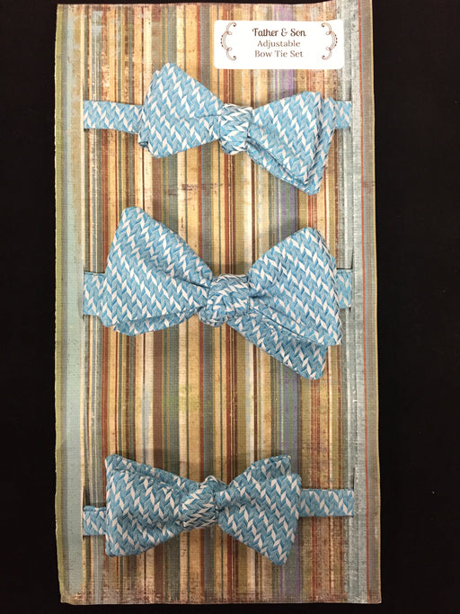 Sacred Selections Father & Son Adjustable Bow Tie Set