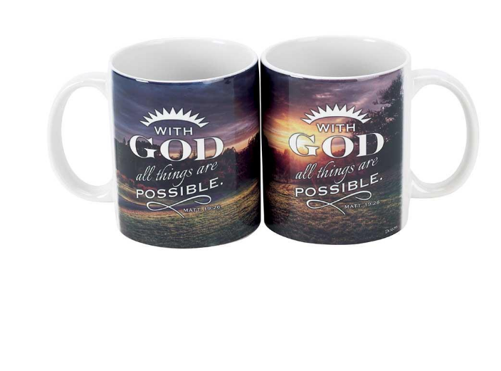 Mug: With God All Things Are Possible