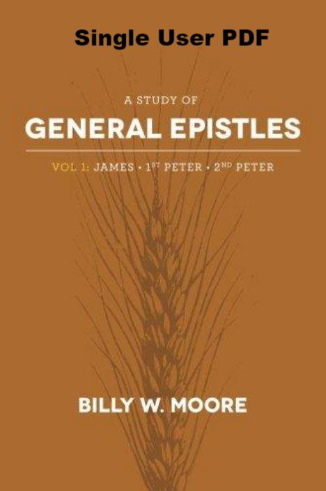 A Study of General Epistles Volume 1 - Downloadable Single User PDF