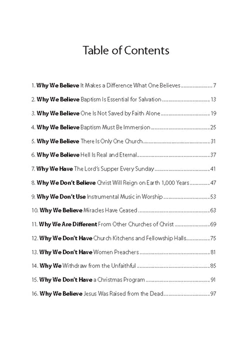 Why? - Downloadable Congregational Use PDF