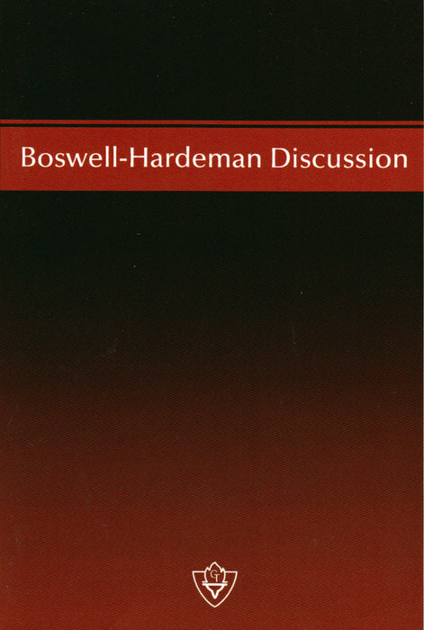 Boswell-Hardeman Discussion