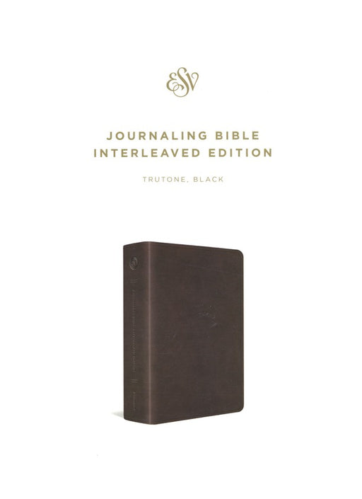ESV Journaling Bible, Interleaved Edition Trutone Black