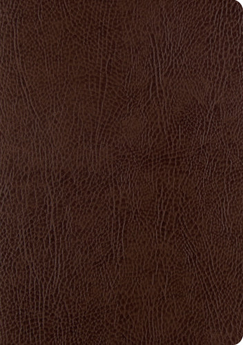 ESV Single Column Journaling Bible, Large Print, Mocha Bonded Leather