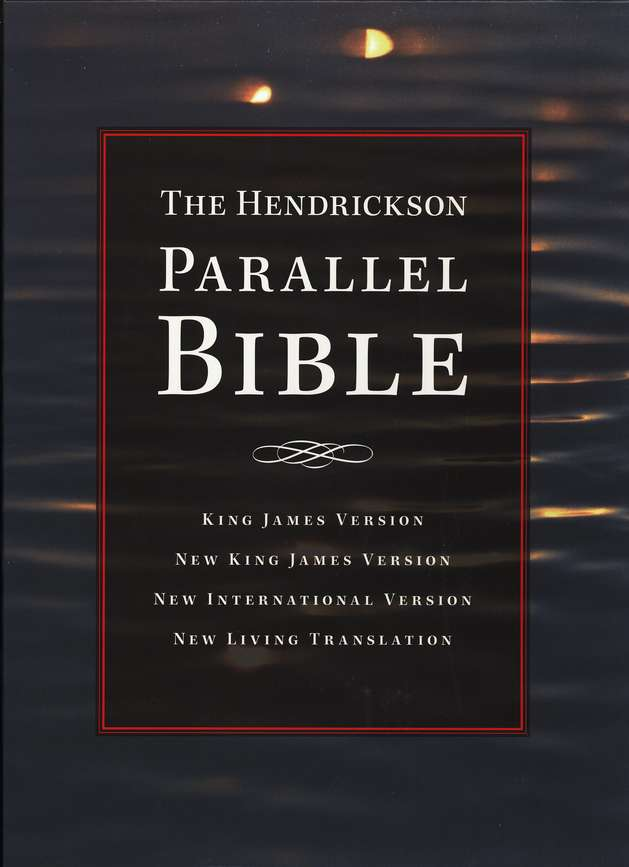 Parallel Bible - Hendrickson  - Burgundy Bonded Leather